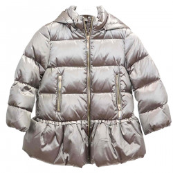 PLATINUM DOWN JACKET WITH HOOD