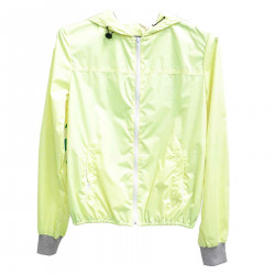 YELLOW GREEN WATERPROOF JACKET
