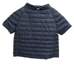 BLUE SHORT DOWN JACKET