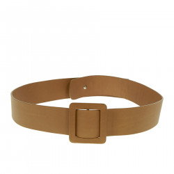 LEATHER CAMEL BELT