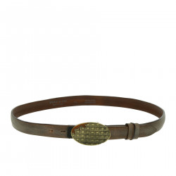 BROWN BELT IN LEATHER