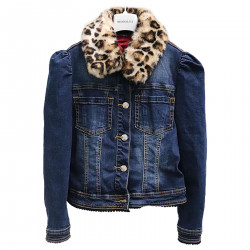 BLUE JEANS JACKET WITH MICKEY
