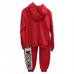COMPLETE RED SUIT WITH WRITTEN