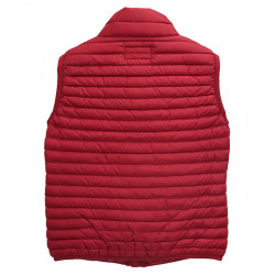 RED SMOOTHED DOWN JACKET