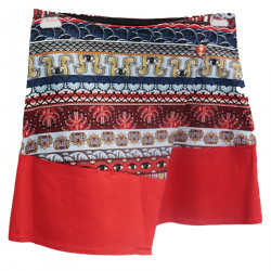 RED WALLET SKIRT