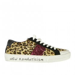 SNEAKERS ANIMALIER CON STRASS