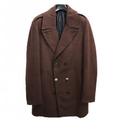 BROWN DOUBLE BREASTED COAT