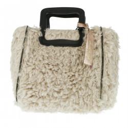 GREY MALTESE SHOPPING BAG