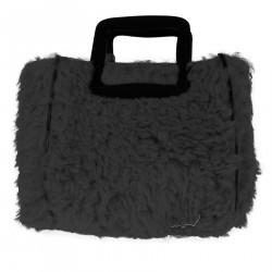 BLACK MALTESE SHOPPING BAG