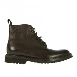 DARK BROWN LEATHER BOOT