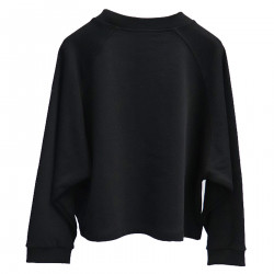 BLACK SWEATSHIRT WITH STAR