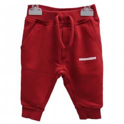 RED FELT PANTS