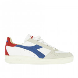 WHITE BLUE AND RED B ELITE SNEAKER