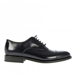 BLUE WINGTIP LACE UP SHOE