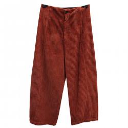 VELVET ORANGE PANTS