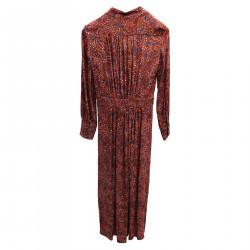 ORANGE FANTASY DRESS