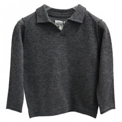 DARK GRAY POLO