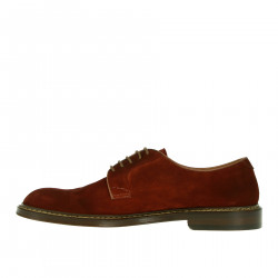 BORDEAUX SUEDE LACE UP SHOE