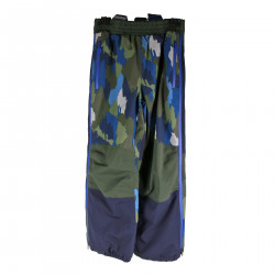 CAMOUFLAGE BLUE SNOW PANTS