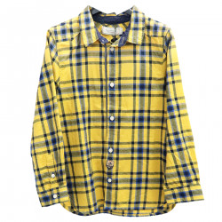 SCOTTISH YELLOW AND BLUE SHIRT