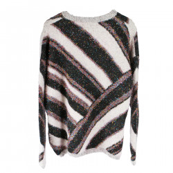 ROUNDNECK SWEATER WITH LUREX