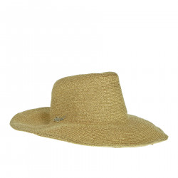 GOLD HAT WITH LUREX