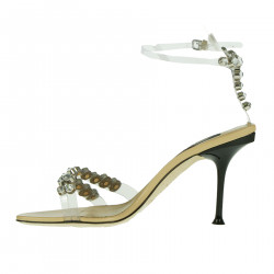 SANDAL WITH STRASS