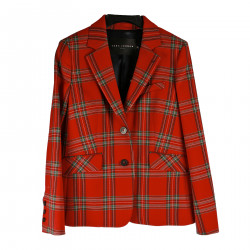 CHECKED RED JACKET