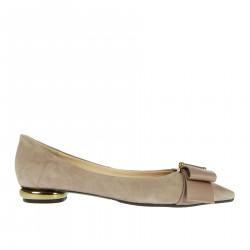 ANNADEA POWDER PINK FLAT SHOE