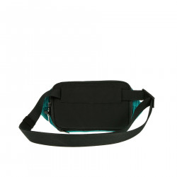 TURQUOISE PLEATED POUCH