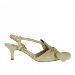 BEIGE CHANEL WITH BOW