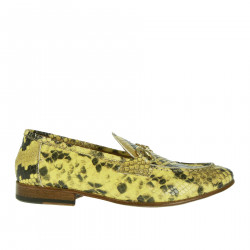 MOCCASIN YELLOW PYTHONED