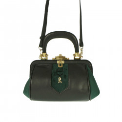 BLACK AND GREEN BAG