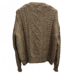 GOLD SWEATER WITH LUREX