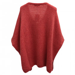 RED V NECK SWEATER