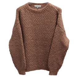 NUTS SWEATER WITH LUREX