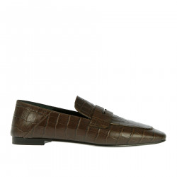 MOCASSINO MARRONE IN PELLE