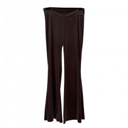 DARK BROWN VELVET PANTS