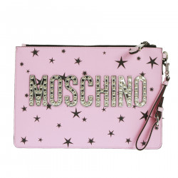 PINK CLUTCH WITH STARS