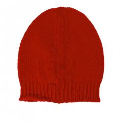 RED CASHMERE BONNET