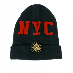 NYC BLACK BONNET