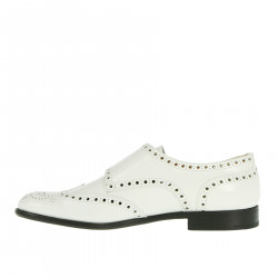 WHITE MONK SHOE