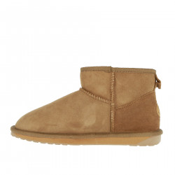 CHESTNUT LOW BOOTS