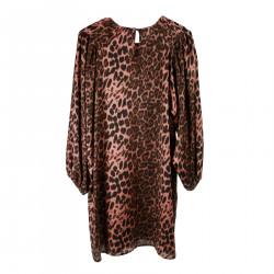 PINK ANIMALIER DRESS