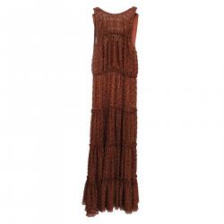 BRONZE LONG DRESS