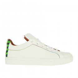WHITE LEATHER SNEAKER