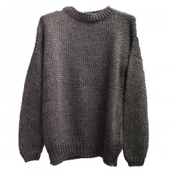 ELSA GREY SWEATER