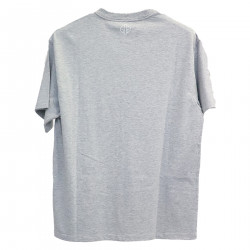 GRAY T SHIRT WITH WRITING