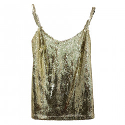 GOLDEN TOP WITH PAILLETTES