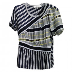 STRIPED MULTICOLOR TOP